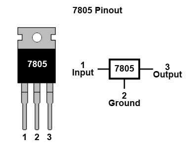 ic 7805 pin diagram can i use a laptop adapter to the power arduino board quora