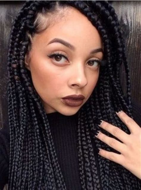 single braids for black women black braids 2016 blackhairstylecuts com