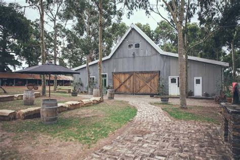 australian barn wedding polka dot
