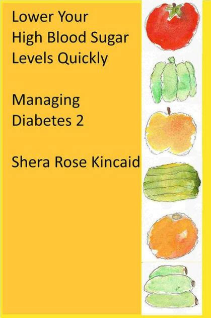 high blood sugar levels quickly managing