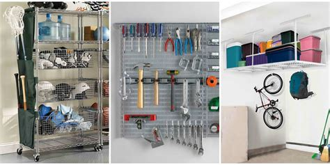 how to organize a garage 24 garage organization ideas storage solutions and tips
