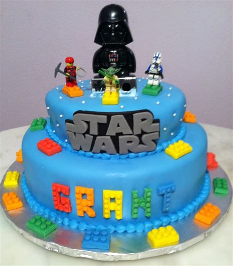 Wars Cake Decoration by Wars Lego Birthday Cake Cakecentral