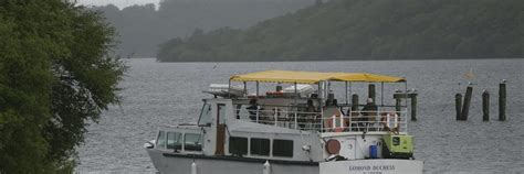 loch lomond speed boat trips by boat ferry waterbus getting around the park loch