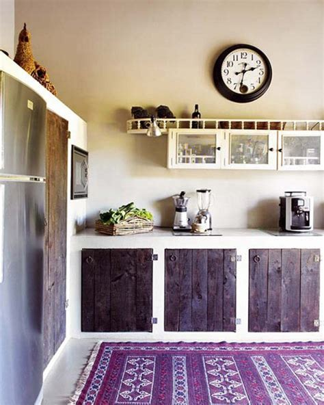 Rustic Kitchen Rugs by 57 Bright And Colorful Kitchen Design Ideas Digsdigs
