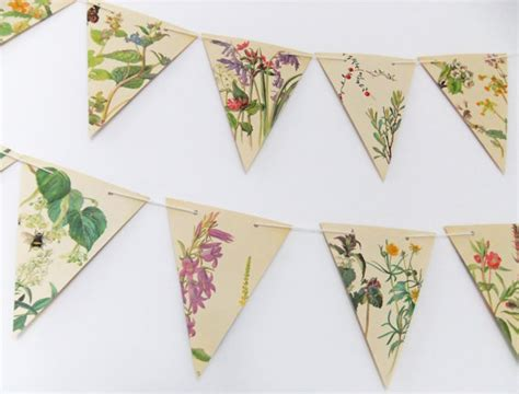 Make Paper Bunting - and summer paper bunting wedding garland flower