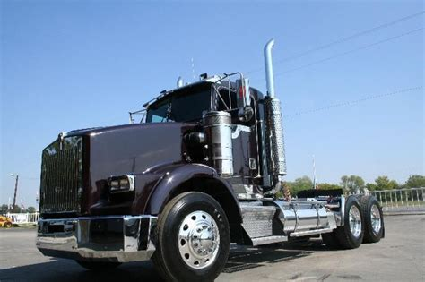 largest kenworth truck 1999 kw t 800 day cab king of the road pinterest