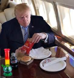 donald trump mcdonalds donald trump s mcdonald s celebration meal sparks a