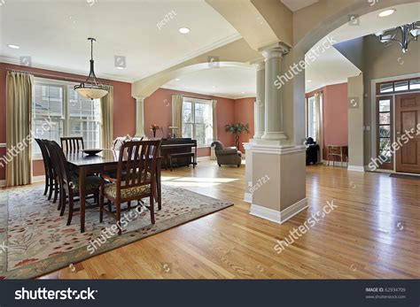 how to create a foyer in an open floor plan dining room open floor plan foyer stock photo 62934709