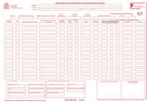 De cotizaci 243 n y el modelo tc 2 relaci 243 n nominal de trabajadores