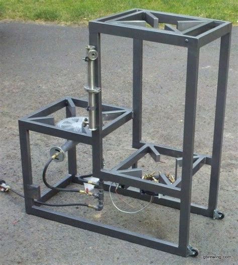home brewery plans 3 tier homebrew system with pump brewing stand is