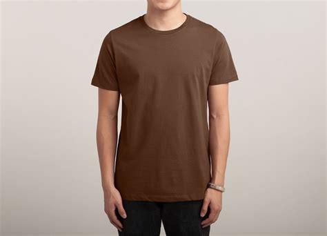 T Shirt Brown 01 brown t shirt threadless