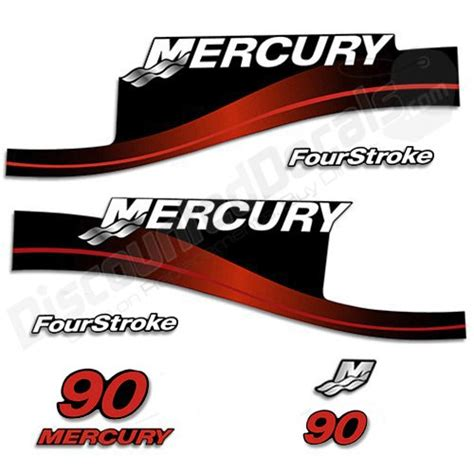 mercury boat motor stickers compare price to mercury outboard motor stickers