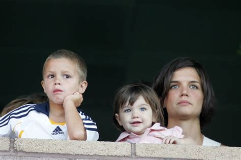 And Suri La Galaxy Vs Chelsea by Suri Cruise Romeo Beckham Photos At The La