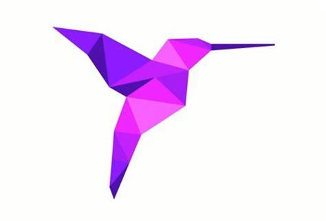 Origami Hummingbird Step By Step - purple origami hummingbird for kymn