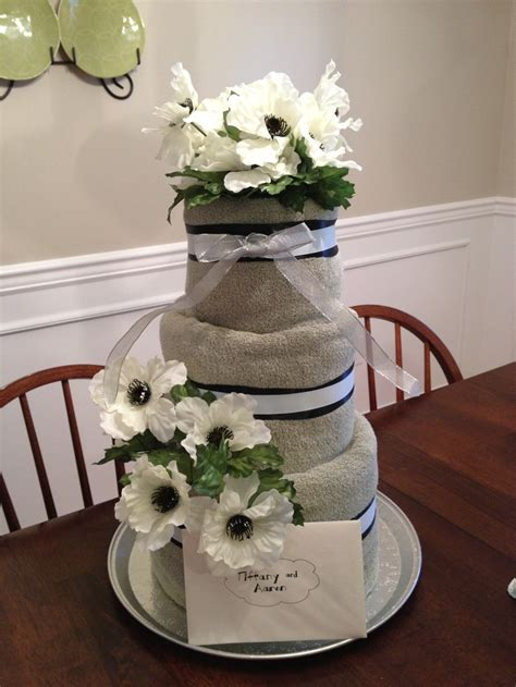 towel cake favors for bridal shower 17 best images about towel cake gift ideas on deere vineyard and firefighters