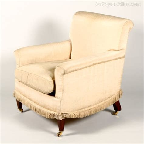 Howard Armchair by Antiques Atlas Howard Sons Library Or Easy Armchair
