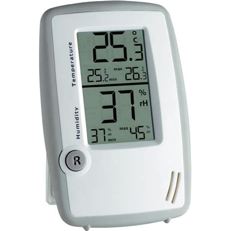 Thermohygrometer Tfa tfa digital thermo hygrometer from conrad
