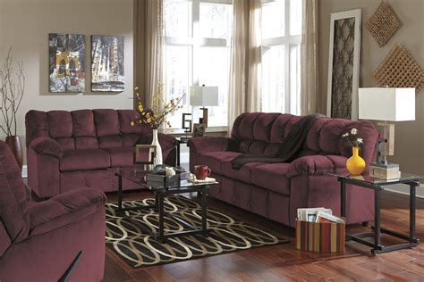 Burgundy And Living Room by Buy Julson Burgundy Living Room Set By Signature Design