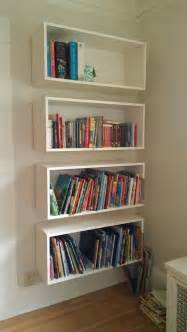 how to build wall mounted bookshelves 25 best ideas about floating bookshelves on