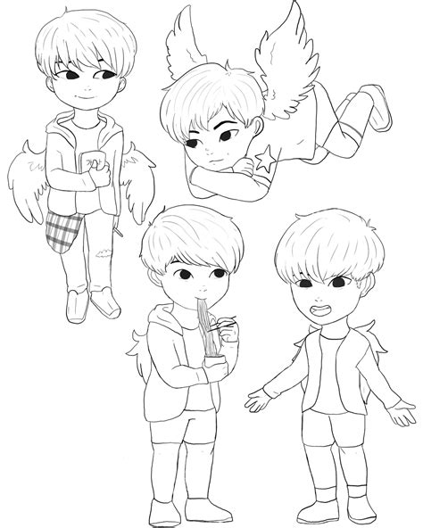 Bts V Coloring Pages by Best Of Bts Colering Pages Pictures To Pin On