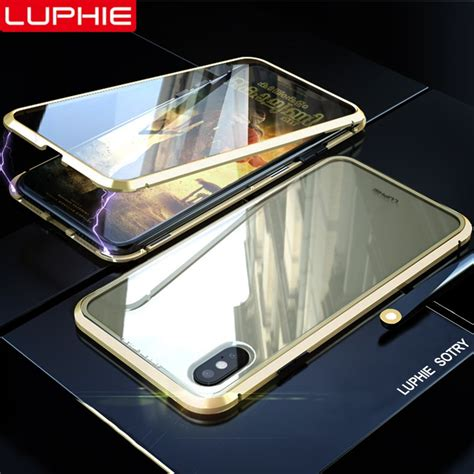 luphie  degree full magnetic case  iphone  xs max