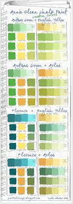 custom colors colorways sloan chalk paint green custom color swatches
