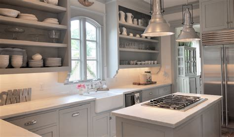 kitchen drawers instead of cabinets using open shelving instead of upper cabinets can be a
