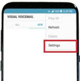 reset android voicemail password how to reset voicemail password on galaxy s8 and galaxy s8