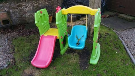 swing and slide set little tikes little tikes slide and swing for sale in naas kildare