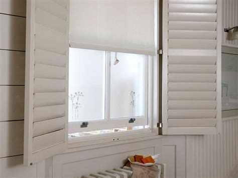 blinds for bathroom window in shower bathroom window treatment