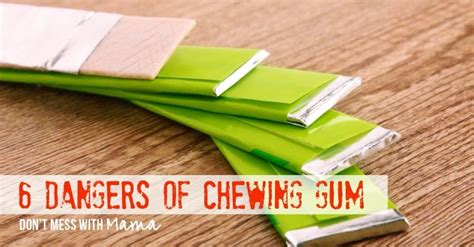 Lemon Detox Diet Chewing Gum by 6 Dangers Of Chewing Gum Other Chewing Gum