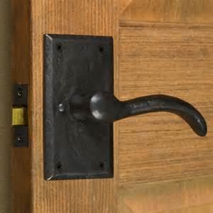 Interior Doors Handles Duncan Rectangular Solid Bronze Lever Set Privacy Passage And Dummy Hardware