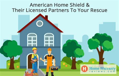 american home shield their licensed partners to your rescue