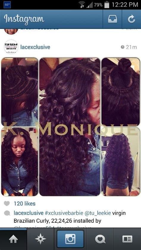 middle pattern haircuts sew in middle part n braid pattern hair weave slayers