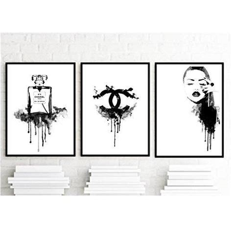 black and white paintings for bedroom best 25 chanel wall art ideas on pinterest chanel print chanel art and chanel canvas