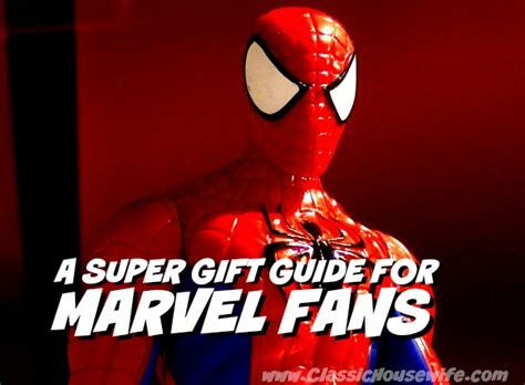gifts for marvel fans a gift guide for marvel fans