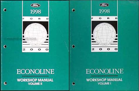 service manual auto repair manual free download 1998 ford econoline e250 electronic throttle