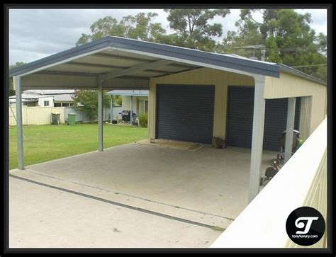 Shed With Carport Attached by Carport With Shed Attached Home Kitchen