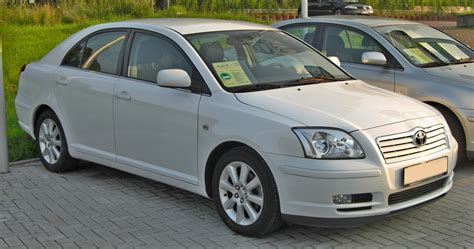 Toyota A Toyota Avensis History Photos On Better Parts Ltd