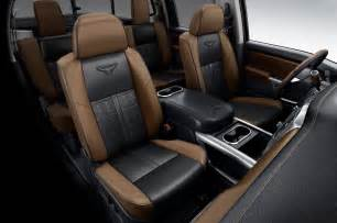 Nissan Titan Interior 2016 Nissan Titan Platinum Interior Photo 44