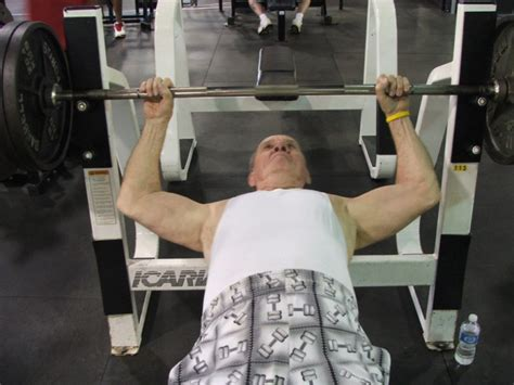 old man bench press dundalk man 80 sets bench press record dundalk md patch