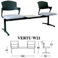 Kursi Tunggu Semarang kursi tunggu savello type vertu w21 furniture kantor