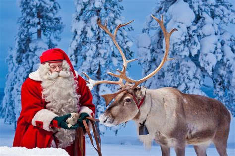 meet the santa claus at the arctic circle finland tours
