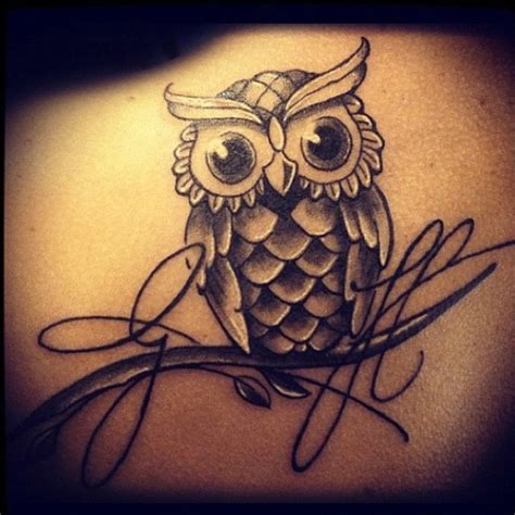 owl tattoos for girls 30 owl tattoos ideas