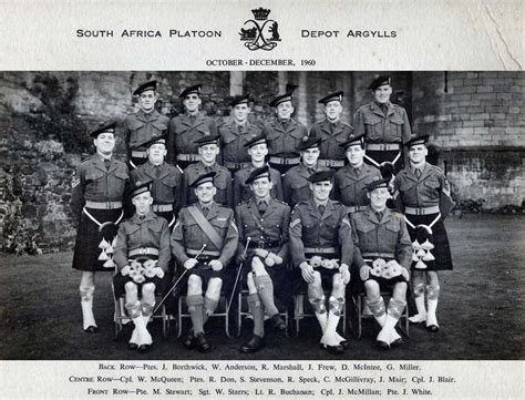 argyll and sutherland highlanders history depot and