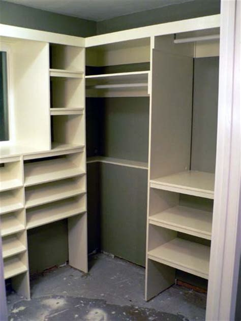Closet Building Materials by Mdf Closet Shelving Plans Furnitureplans