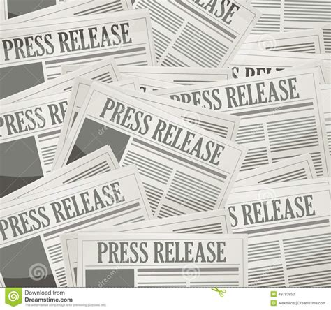 Newspapers Background Stock Illustration 294853400 Press Release Newspaper Illustration Design Stock Photo Image 48783850