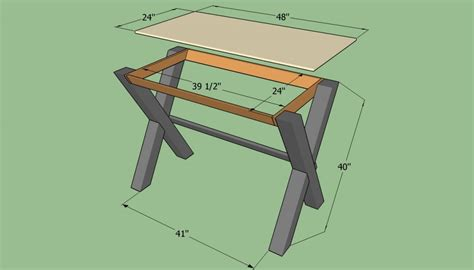 how to build a simple desk how to build a simple desk howtospecialist how to