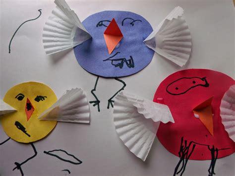 kindergarten activities birds plain graces a quot cheep quot spring craft