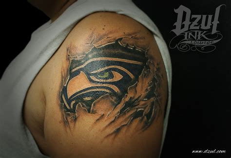 seahawks tattoo me myself amp i pinterest
